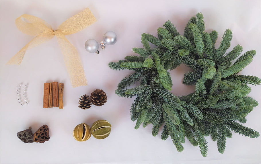 Luxury Christmas Wreath Making Kits 2020