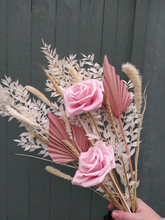 Load image into Gallery viewer, Dried Flower Bouquet | Blush Pink | Blush Pink Paper Roses