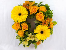 Load image into Gallery viewer, Parks Florist provide bespoke funeral flowers across Dorset. Our collection includes casket sprays, funeral wreaths, funeral sprays, funeral posies, funeral letters, funeral crosses. funeral hearts, and bespoke unique funeral designs. Our sympathy flowers come in a range of styles from traditional to modern/contemporary