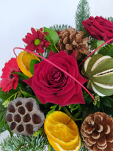 Load image into Gallery viewer, Red Christmas Arrangement Large