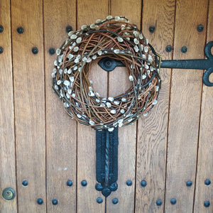 Pussy Willow Wreath | Christmas Wreath | Door Wreath