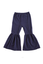 Load image into Gallery viewer, Navy wide bell pants 150396