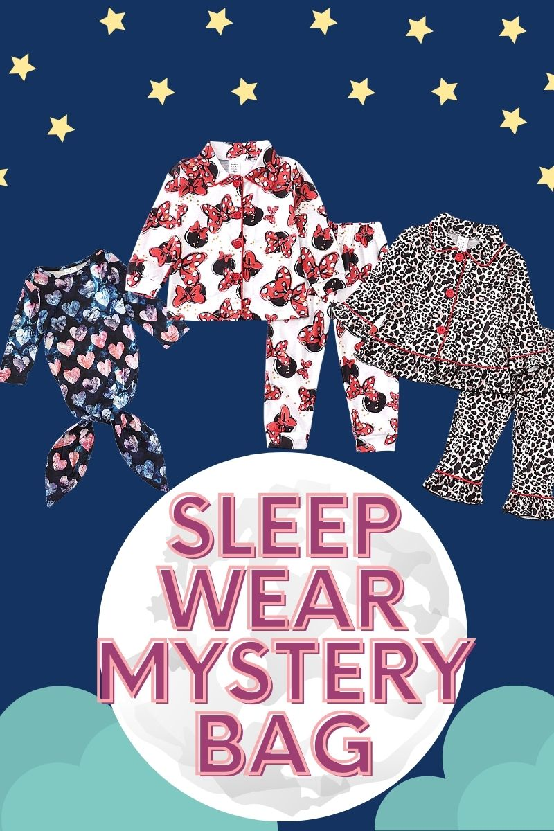 Sleep Wear Mystery Bag 3 outfits bundle! M-360