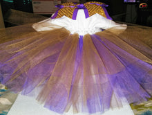 Load image into Gallery viewer, Purple Gold Tutu