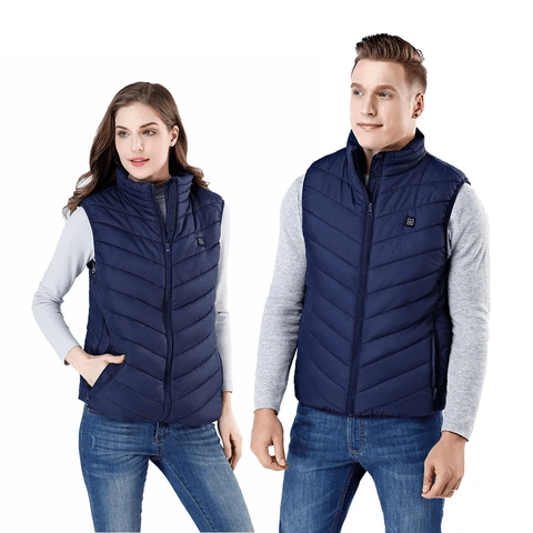 FLAYM Unisex Heated Down Vest