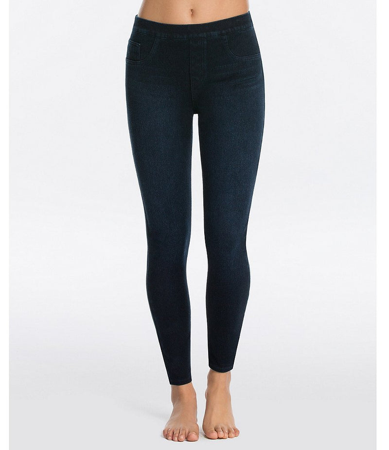 SPANX Jean-is Ankle Leggings {Twilight Rinse}