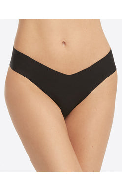 SPANX Under Statements Thong {Very Black}