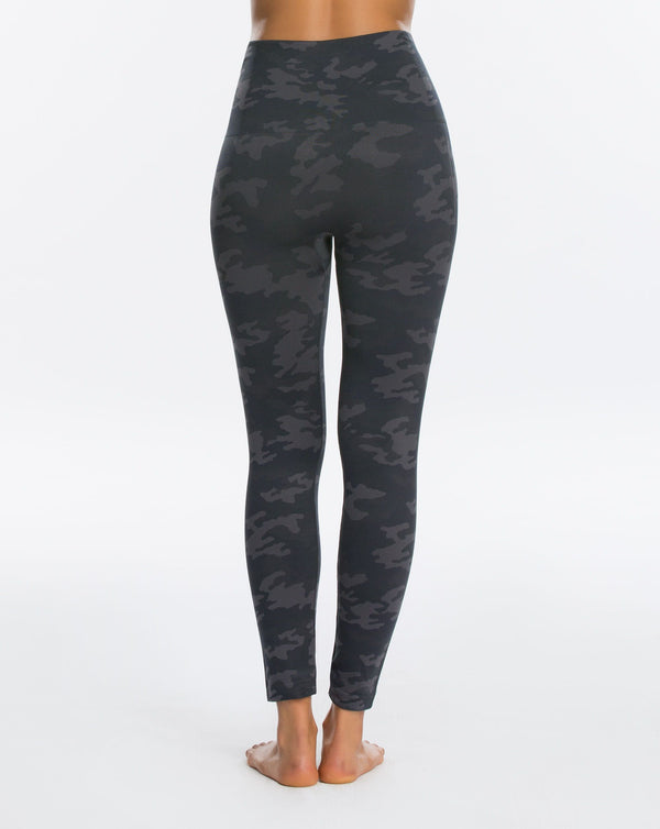 SPANX Look At Me Now Seamless Leggings {Black Camo}