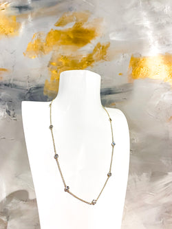 Dainty Darling Necklace {Gold}