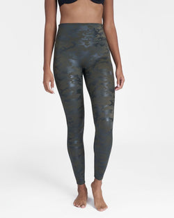 SPANX Faux Leather Camo {Green Camo}