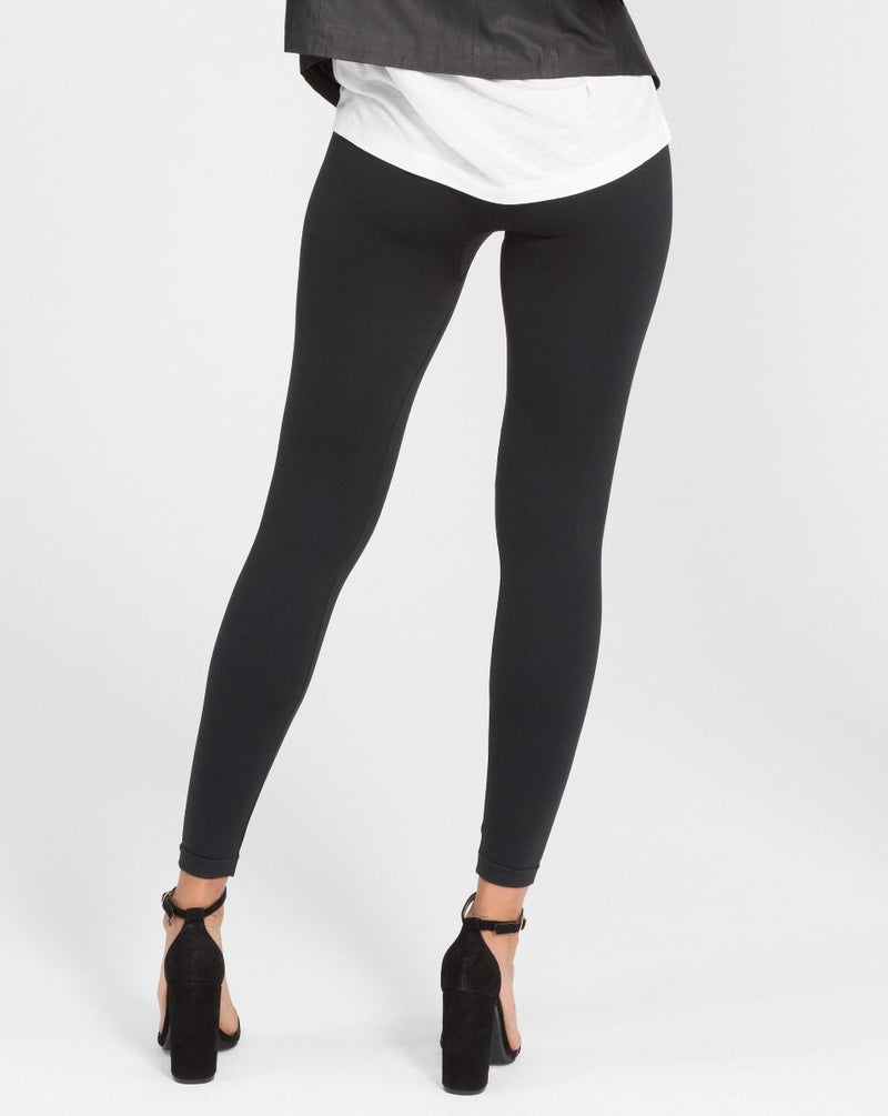 SPANX Look At Me Now Seamless Leggings {BLACK}