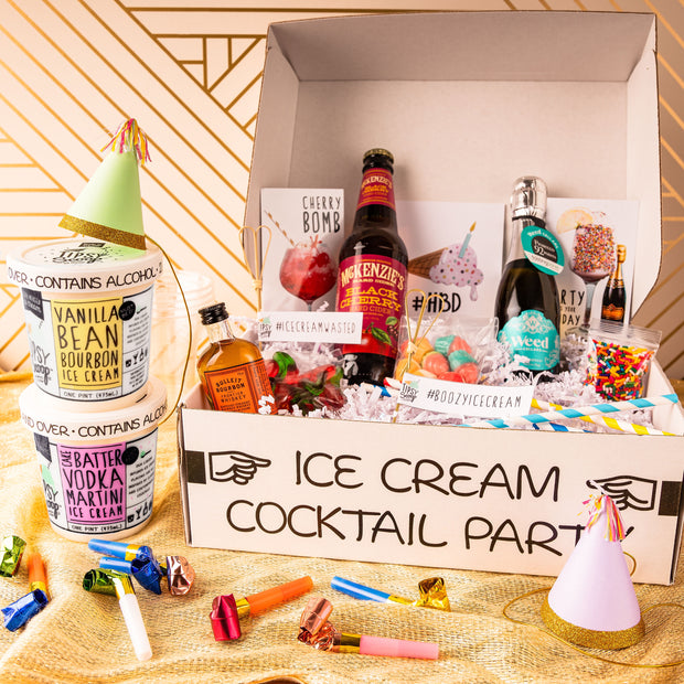 Celebratory Ice Cream Cocktail Kit
