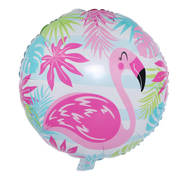 Flamingo Foil Balloon - Pk / 5