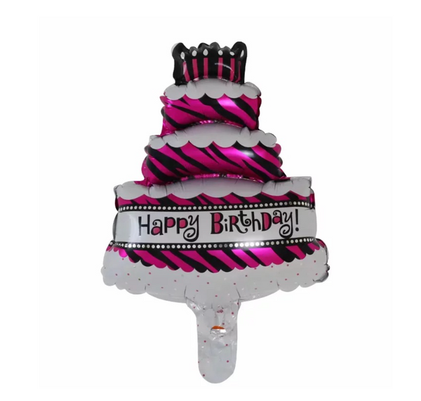 3-Tier Birthday Cake Foil Balloon