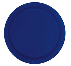 "Solid Colours 7"" Paper Plates - 20/pack"