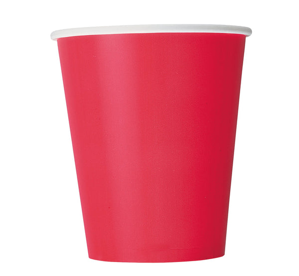 Solid Color Paper Party Cups - 14/ pack