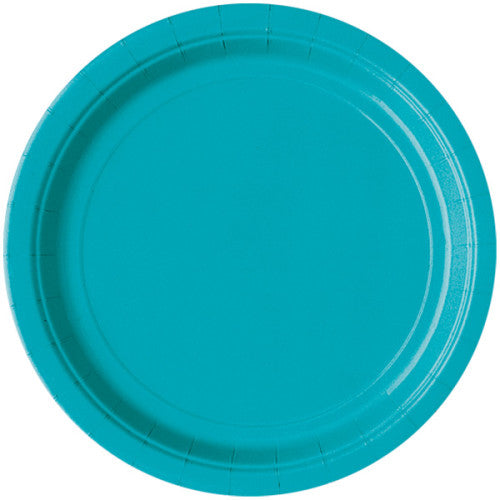 Solid Colour 9 in Paper Plates - 16/ pack