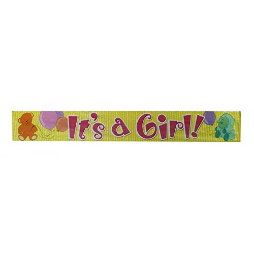 "Party-Anthem ""It's a Girl"" Foil Banner"