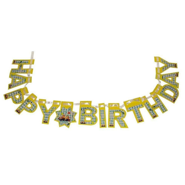 "Minions ""Happy Birthday"" Banner"
