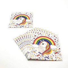 Unicorn 2 Ply Paper Napkins- Pack of 40
