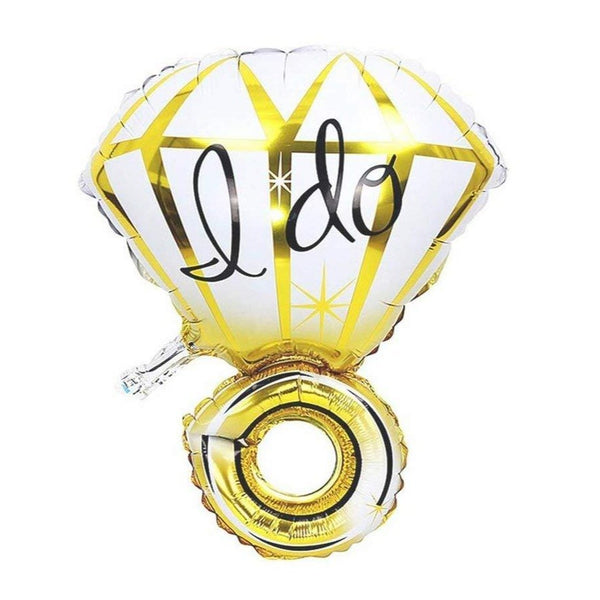 """I Do"" Engagement Ring Shape foil Balloon - 30 Inches"