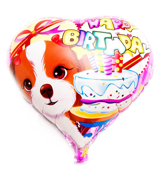"Happy Birthday Foil Balloon for Birthday/ Party Celebration - Pack of 2 - 18"" Each"
