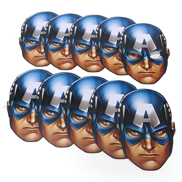 Captain America Facemask -30 pcs