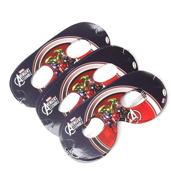 Marvel Avengers Party Eye Mask-Pack of 30