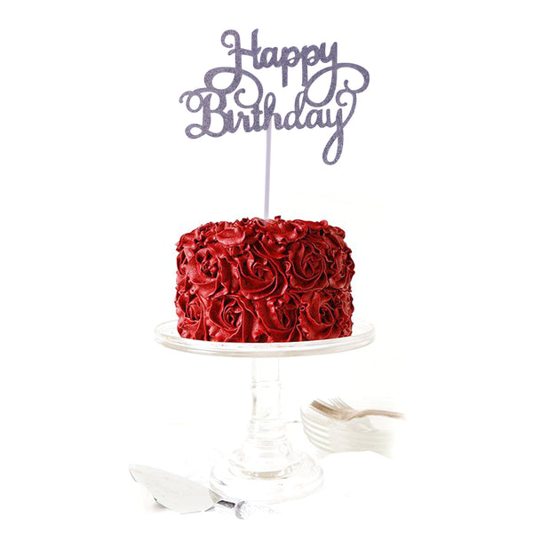 """Happy Birthday"" Cake Topper"