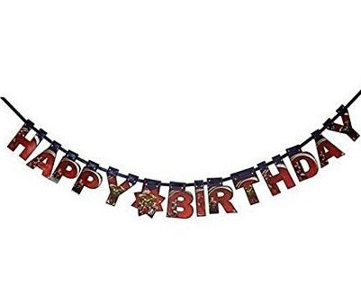 "Marvel Avengers ""Happy Birthday"" Die Cut Banner - 4.5 feet"