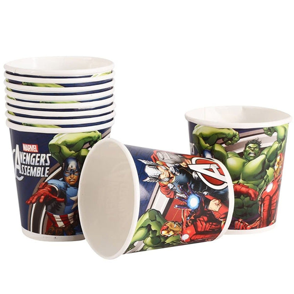 Marvel Avengers Paper Cups 200 ml - Pack of 30