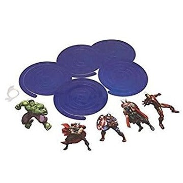 Marvel Avengers Danglers & Swirl Hanging Decorations Items -Pack of 5
