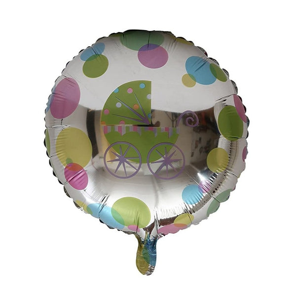 Baby Cart Baby Shower Foil Balloon