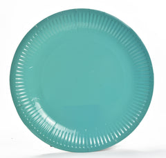 Sapphire Blue Paper Plate