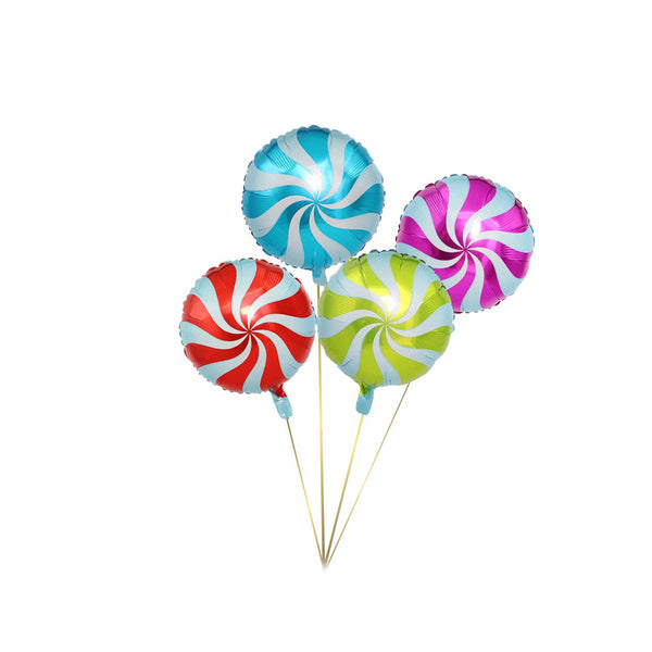 Candy Foil Balloon - Pk/4