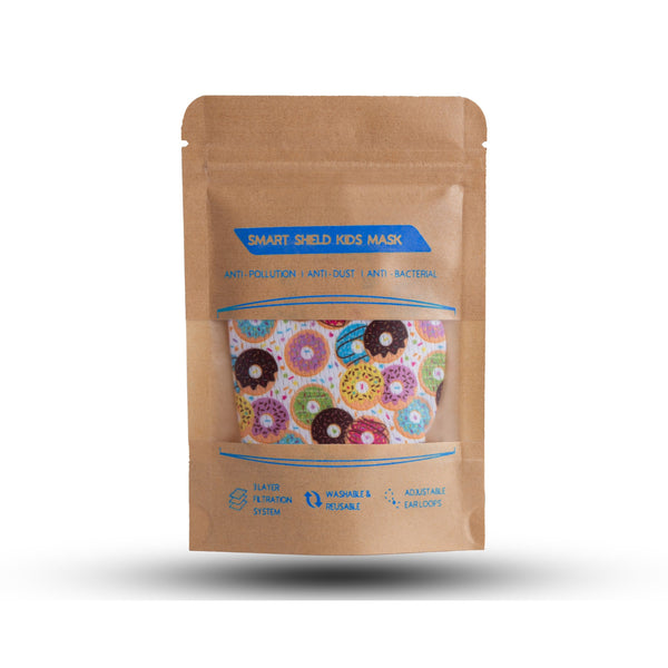The Delectable Donut 3 Layer Face Mask with Filter