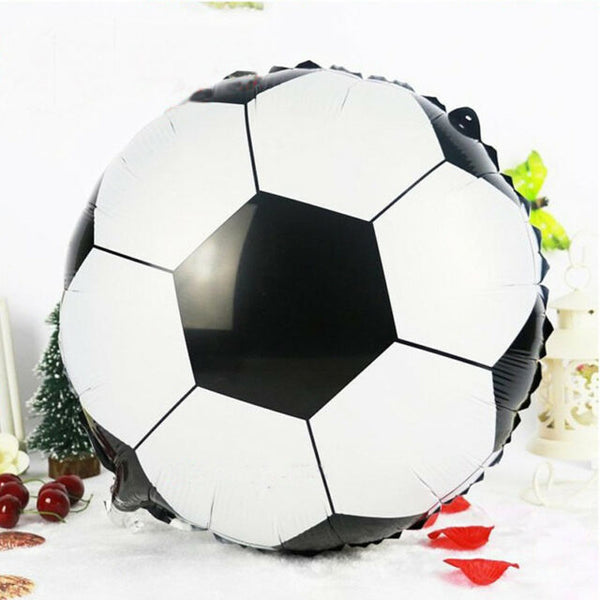 Football Foil Balloon - Pk /5