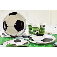 3D Football Paper Napkins - 16/pack
