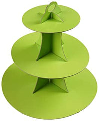 Solid Colours Cup cake stand - 3 tier