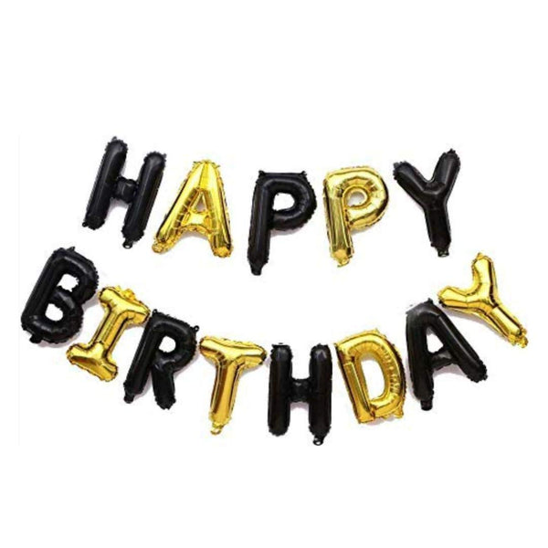 """Happy Birthday"" Letter Foil Balloon"