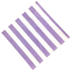 Striped Paper Napkins - 40 / Pack