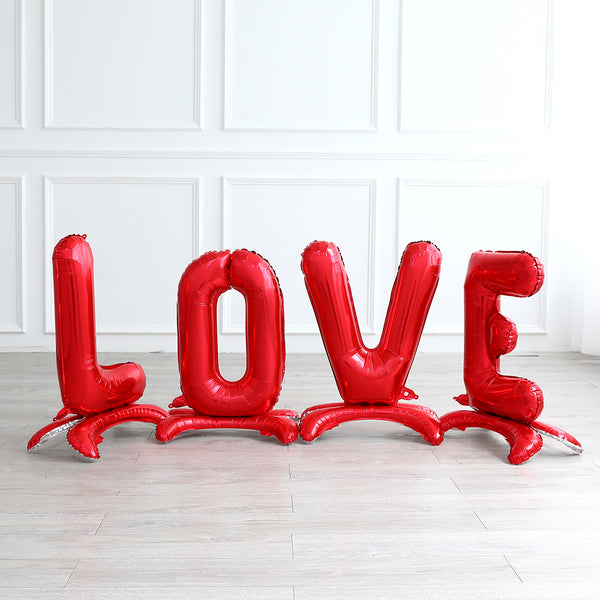 LOVE letters standing balloons 32 inches