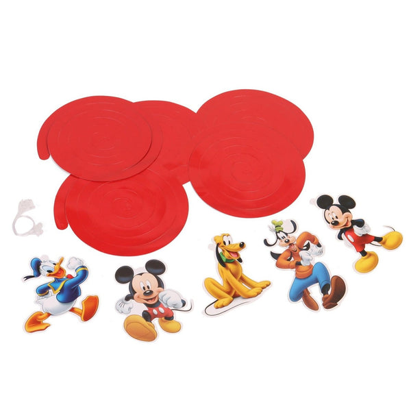 Disney Mickey Mouse Party Swirls & Danglers - Pack of 10 Pieces