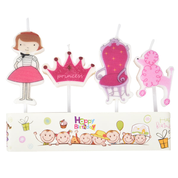Princess Cake Candle
