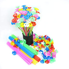 Balloon Sticks & Base Multicolor - 50 / Pack