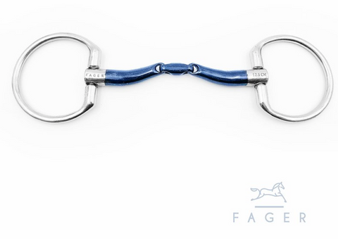 Fagers Sweet Iron Fixed Ring Bit - Marcus