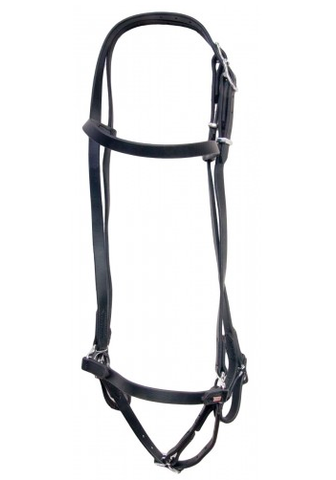 SuperStrap Bridle Black - Low Maintenance