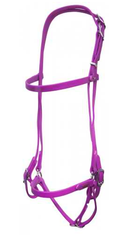 SuperStrap Bridle Purple - Low Maintenance