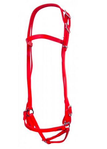 SuperStrap Bridle Red - Low Maintenance
