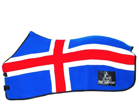 Fleece Blanket - Icelandic Flag